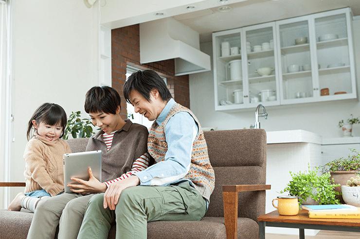 フレッツ光×タブレットで楽しいインターネット生活を始めよう!