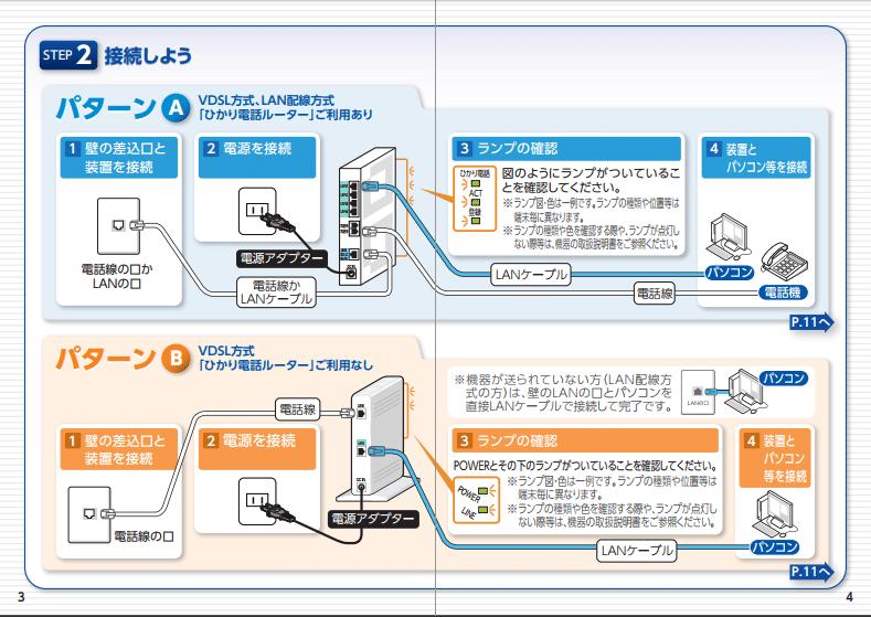 パソコン1台 接続