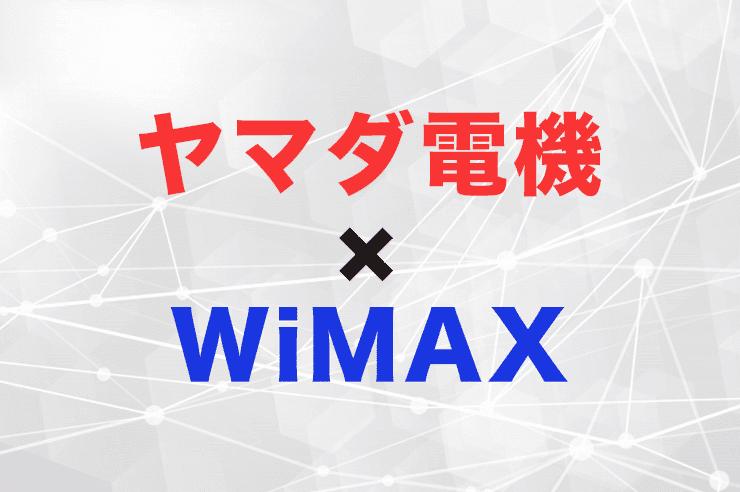 ヤマダ電機 wimax