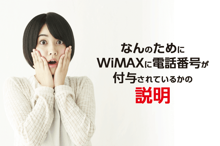 wimax 電話番号