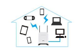 Wi-Fi接続のイメージ