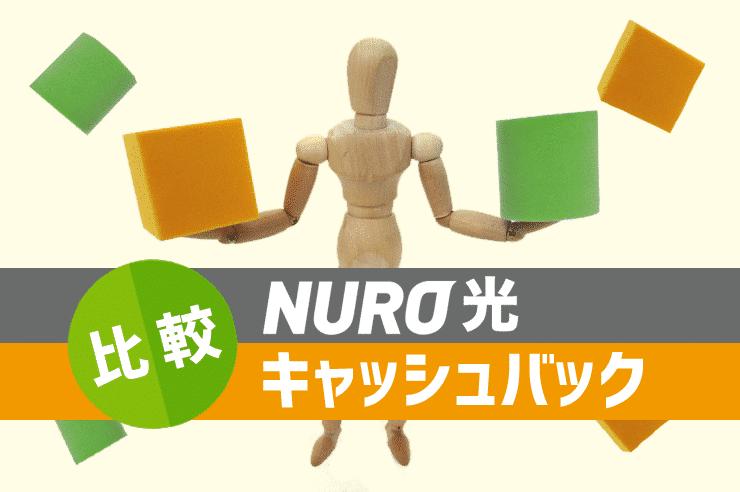 nuro光 キャッシュバック 比較