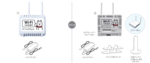 モバイル回線でWi-Fi接続