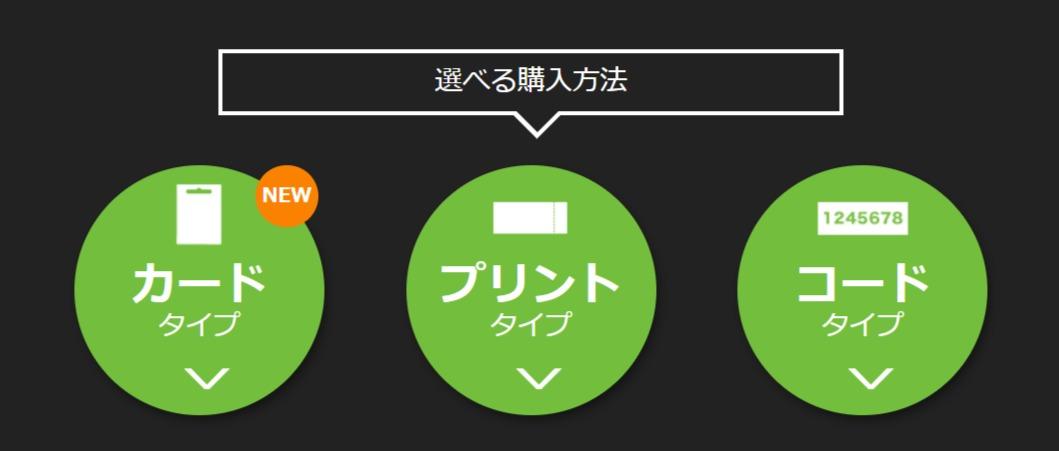 Huluチケット購入方法
