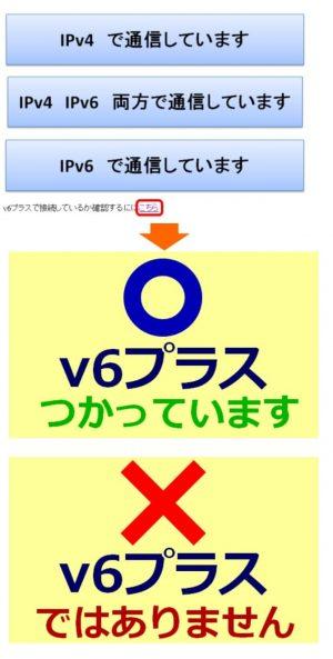 v6プラス判定ページ|GMOとくとくBB