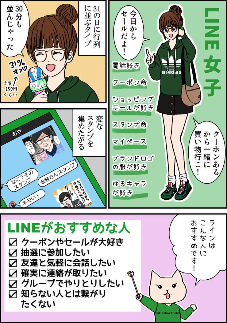 line_girl