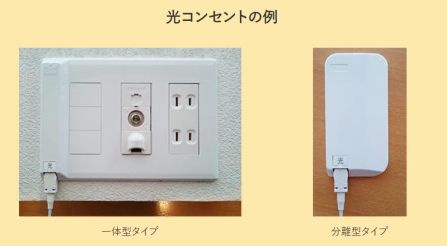 光コンセントの例 |SoftBank 光|インターネット|ソフトバンク - ybb.softbank.jp