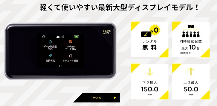 ZEUS WiFi -端末