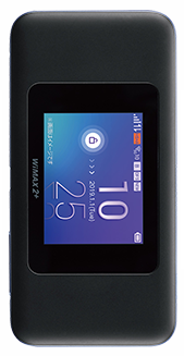 WiMAXの高速通信対応機種・W06