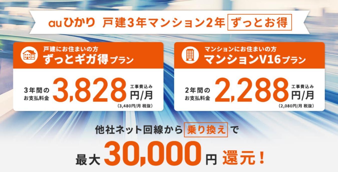 So-netプロバイダ窓口なら、最大30,000円のキャッシュバック